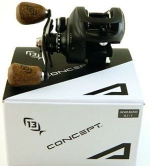 13 Fishing Concept A 7.3 RH Baitcasting Reel Saltwater Freshwater for Sale in Canyon Lake, TX