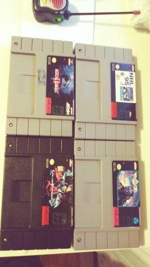 Super Nintendo games for Sale in Chicago, IL