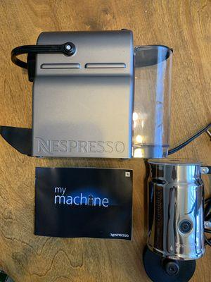 Nespresso inissia coffee maker and Nespresso , aeroccino milk frother for Sale in Sebring, FL