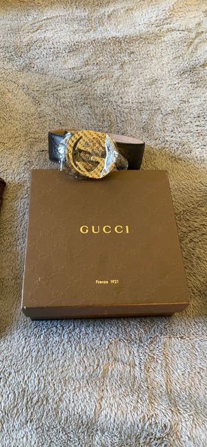 Gucci Belt - Size 95 Men for Sale in San Jose, CA