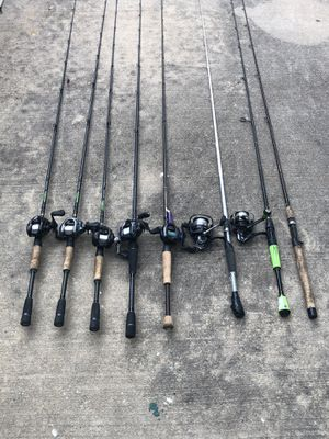 Fishing Rods and Reels for Sale in Pflugerville, TX