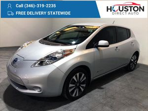 2016 Nissan Leaf for Sale in Houston, TX