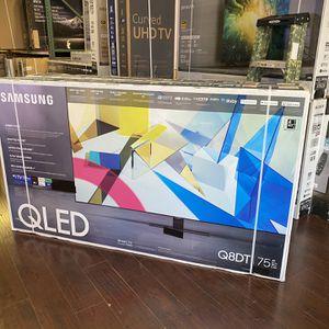 75 INCH SAMSUNG QLED Q80T Q80 SMART 4K TVS FULL ARRAY HDMI 2.1 GAMING TV HUGE TV SALE for Sale in Glendale, CA