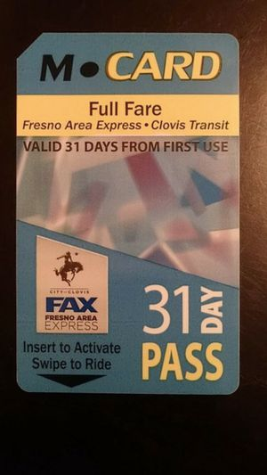 Bus Pass *NEW* for Sale in Fresno, CA