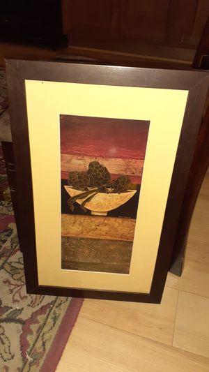 Framed Artichoke Print for Sale in Washington, DC