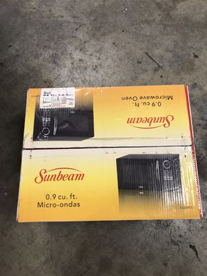 New in box, Sunbeam microwave! for Sale in Bonney Lake, WA