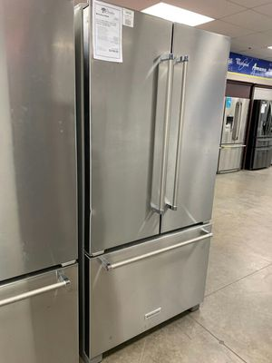 New KitchenAid Counter Depth French Door Refrigerator..1 Year Manufacturer Warranty Included for Sale in Chandler, AZ