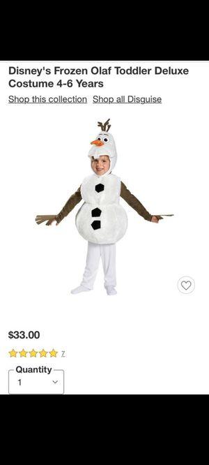 Olaf costume for Sale in San Pedro, CA