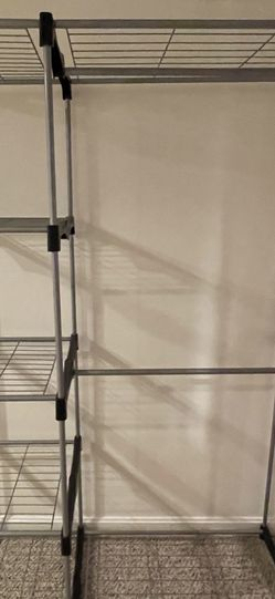 Closet organizer Rack And Hanger System for Sale in Milton,  MA
