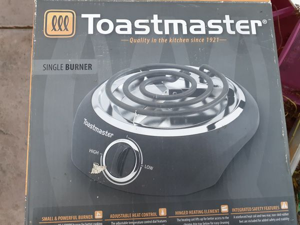 toast master is a cook top or electric single burner stove