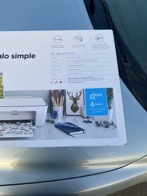 HP DeskJet 2722 All-in-One Wireless Color Inkjet Printer – Instant Ink Ready for Sale in Bradenton, FL