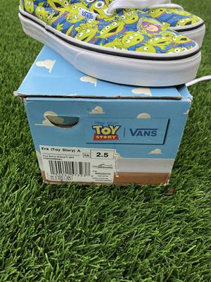 Vans Toy Story kids size 2.5 new never used for Sale in Chula Vista, CA