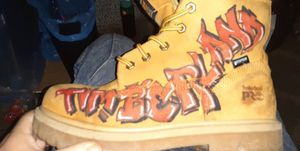 Timberland Boots Scarface/Graffiti edition. for Sale in Columbus, OH