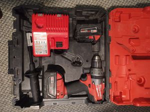 Milwaukee fuel m18 hammer drill combo for Sale in West Jordan, UT
