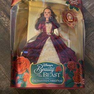 Disney belle barbie The Enchanted Christmas for Sale in Bradenton, FL