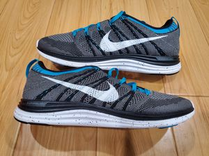 Brand New Mens Nike Flyknit One + size 9.5 Black White Charcoal Turquoise for Sale in El Monte, CA