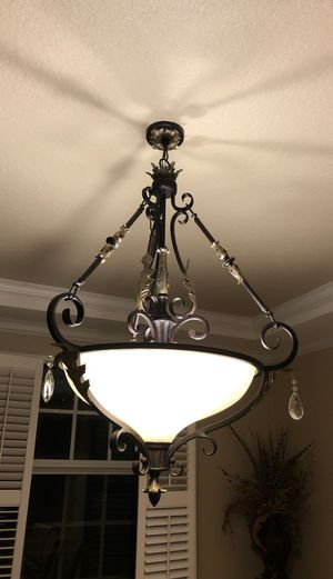 Chandelier and 2 wall lamps for Sale in Fort Lauderdale, FL