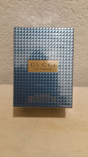 "FIRM $56.00 ""GUCCI POUR HOMME II"", COLOGNE FOR MEN for Sale in Manor, TX"