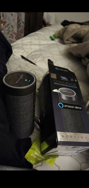 Amazon Alexa Bluetooth and home-hub for Sale in Tacoma, WA