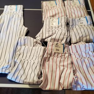 Champro Knicker Baseball Pants, Red And Black Pinstripes for Sale in Surprise, AZ