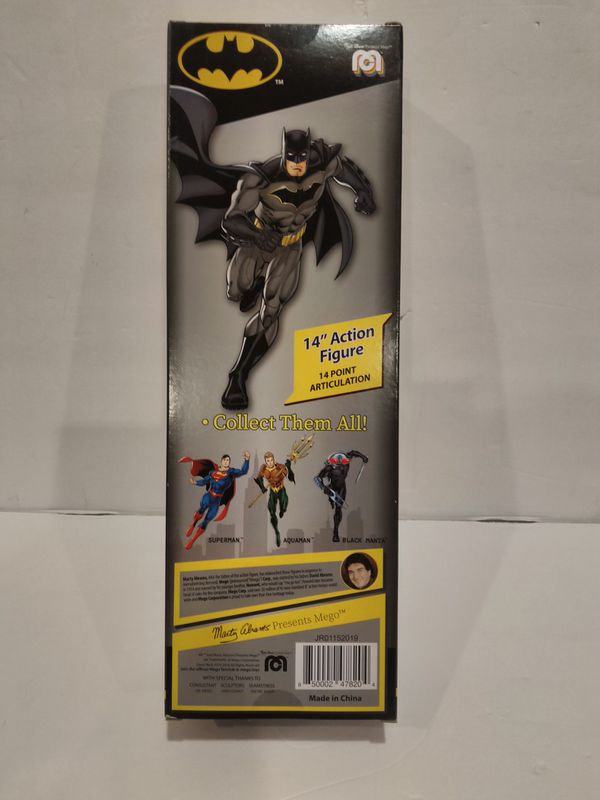 "MEGO Limited Edition Retro DC Hero 14"" Batman Action Figure"