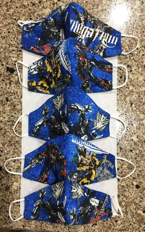 """"""" NEW PROFESSIONALLY MADE !! ( TRANSFORMERS & MARVEL SPIDER-MAN MASKS !!!! ) * 3 PREMIUM LAYERS PROTECTION / w MEDICAL ELASTIC!!!!!!!! for Sale in Orlando, FL"""
