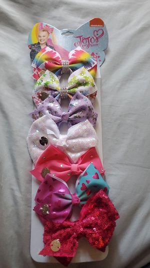 $10 jojo siwa bows for Sale in Las Vegas, NV