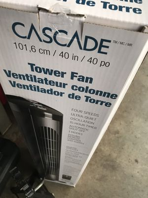 Brand new digital tower fan with remote for Sale in Waterford Township, MI