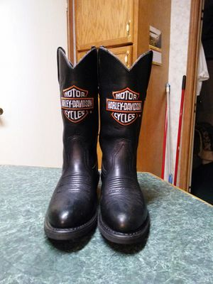 Harley Davidson boots size 6 and 1/2 for Sale in Von Ormy, TX