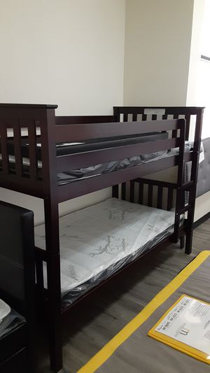 Bunk bed with Mattress for Sale in Phoenix, AZ