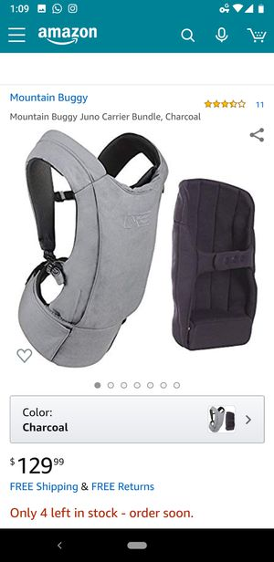 Mountain Buggy Baby Carrier (Journey) for Sale in Provo, UT