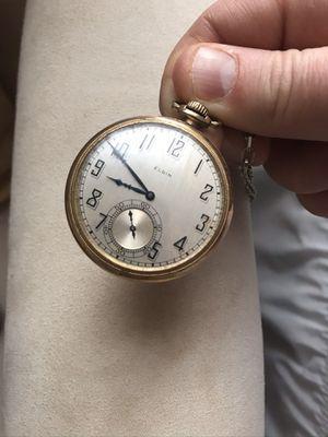 Elgin pocket watch for Sale in Lynn, MA