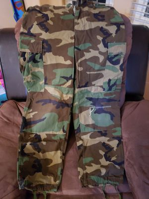 Camo pants army style for Sale in Hayward, CA