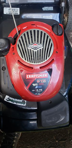 Lawn mower Craftsman for Sale in Renton, WA