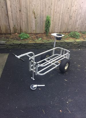 Aluminum fishing cart for Sale in Point Pleasant, NJ