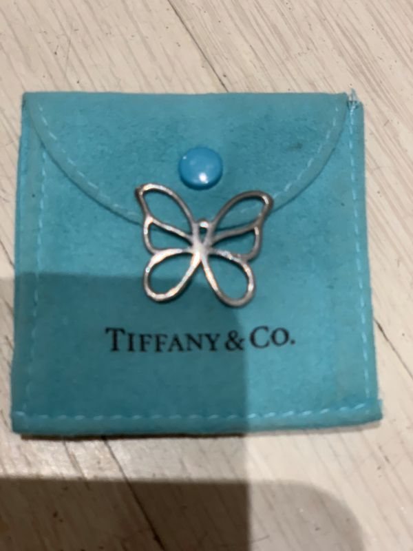 Tiffany & Co Butterfly Pendant Necklace