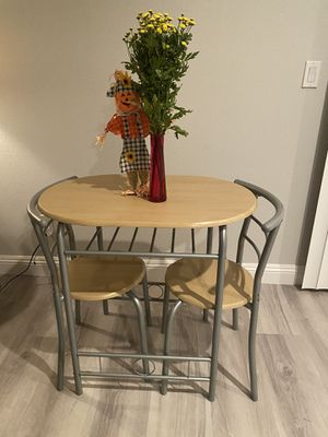 3 Piece Modern Bistro Table for Sale in Las Vegas, NV
