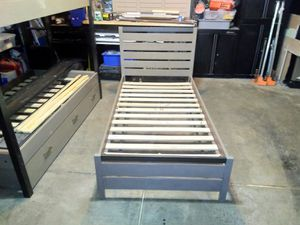 Twin bed and bunk beds for Sale in Lake in the Hills, IL