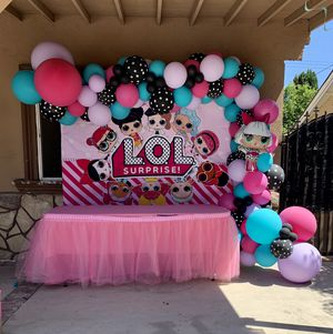 LOL Surprise Balloon Garland for Sale in Los Angeles, CA