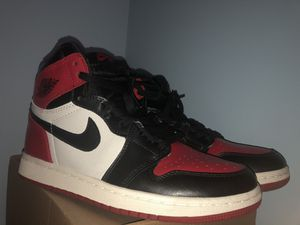 Jordan 1 Bred Toes for Sale in Oxnard, CA