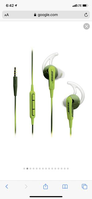 Like New Bose Headphones with mic and Volume Control for Sale in Fresno, CA