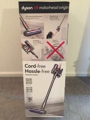 Dyson V8 motorhead origin cord free vacuum HEPA NEW for Sale in Blue Bell, PA