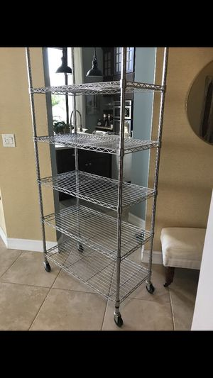 Metal shelves for Sale in West Palm Beach, FL