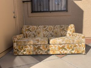 Free couch with pull out bed for Sale in Tucson, AZ