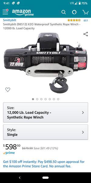 Smittybilt X20 Winch for Sale in Chandler, AZ