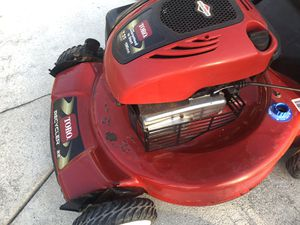 Red toro bull recycler lawn mower in excellent condition for Sale in Miami Gardens, FL