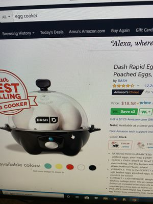 NEW in box egg cooker for Sale in Phoenix, AZ