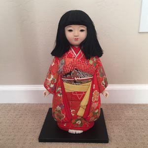 Japanese Traditional Ichimatsu Doll I Have Two Each Sold Separately for Sale in San Diego, CA