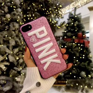 Pink Victoria's Secret PINK 3D Embroidery iPhone Case for Sale in Abilene, TX