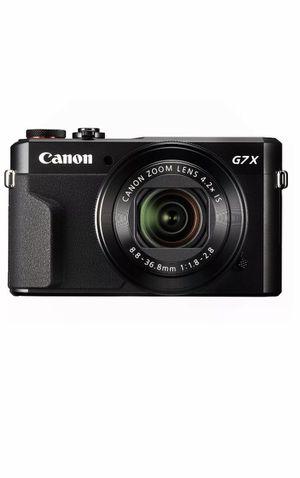 Canon Power Shot G7 X Mark II Digital Camera for Sale in Brooklyn, NY